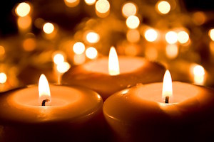 Candles Christian Stock Photos